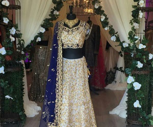 dresses, wedding, and indian image