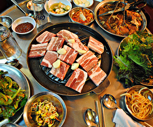 south korea, world, and south korea food image