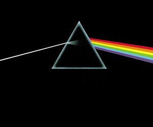 rock, dark side of the moon, and Pink Floyd image