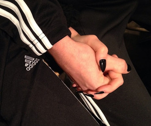 adidas, couple, and love image