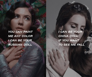 marina and the diamonds and lana del rey image