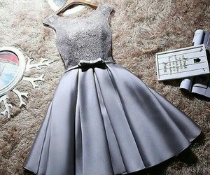 grey homecoming dresses and dress image