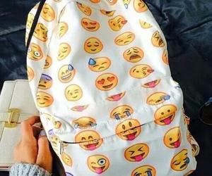 emoji, bag, and backpack image
