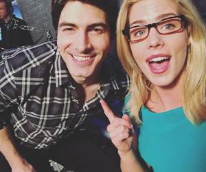 arrow, brandon routh, and felicity smoak image