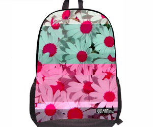 colors, flowers, and back to school image