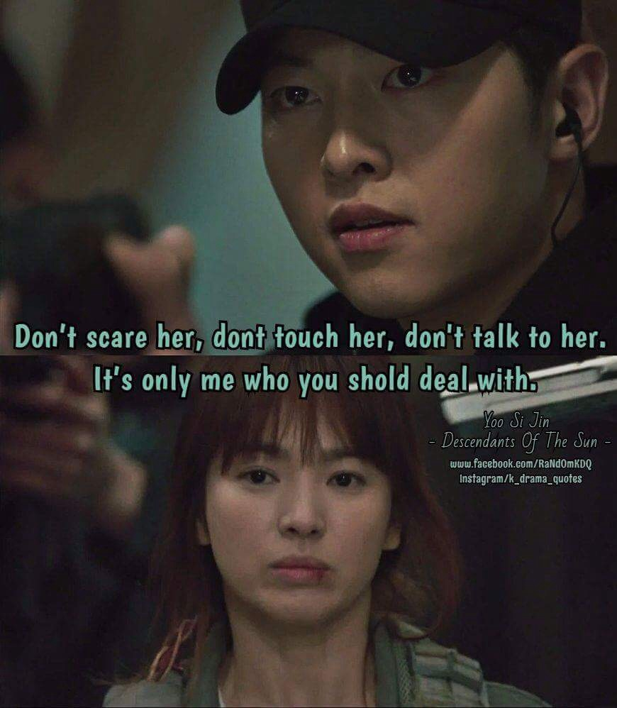 image about quotes in descendants of the sun 😍👌 by kezban hyde