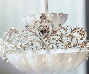 princess, beautiful, and crystal image