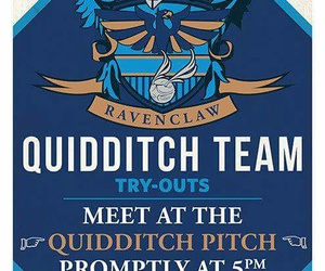 harry potter, quidditch, and ravenclaw image