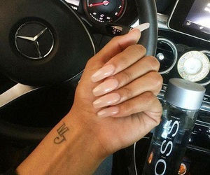 amour, car, and nails image