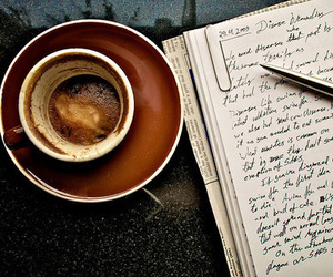 aesthetic, coffe, and vintage image