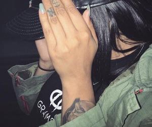 nails, cap, and khaki image