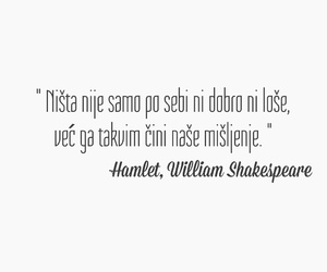 Hamlet, život, and citati image