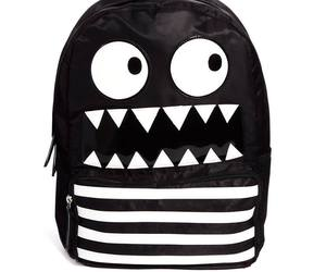 black, monster, and back to school image