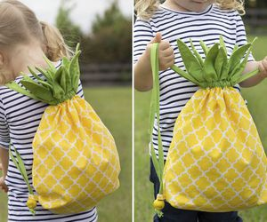pineapple, cute, and back to school image