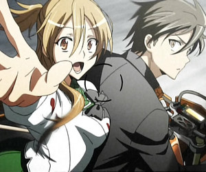 anime, takashi, and highschool of the dead image