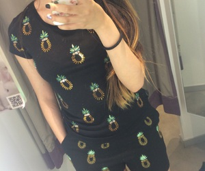 H&M, matching, and pineapple image