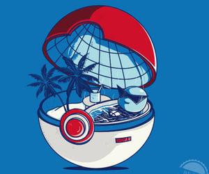 pokemon, pokeball, and squirtle image