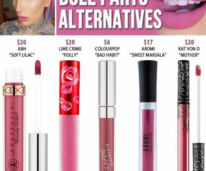 jeffree star, lipstick, and dupes image
