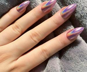 nails, pink, and tumblr image