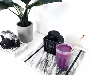 health, minimal, and smoothie image