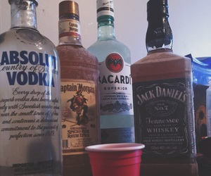 absolut vodka, booze, and drank image