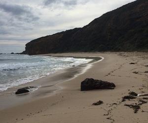beach, sea, and nature image