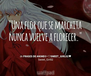 anime, frases, and inuyasha image