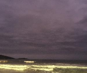 beach, beautiful, and dark image