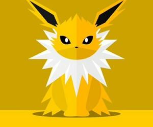 pokemon, wallpaper, and jolteon image