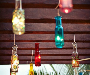 decoracion, botellas, and fiesta mexicana image
