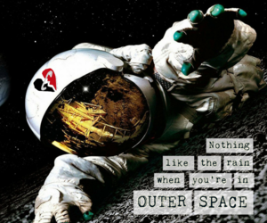 astronaut, outer space, and song image