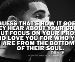 Drake and quote image