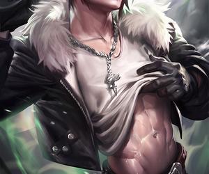 fantasy, guy, and warrior image
