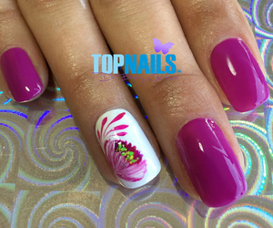nailart, nails, and nails polish image
