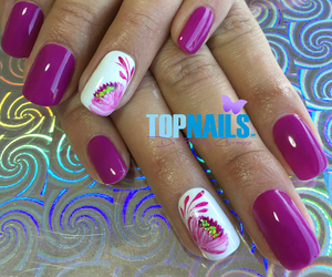 nails, nailstyle, and acrylic nails image