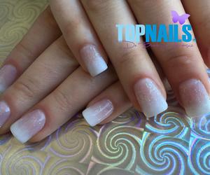 acrylic nails, nails art, and nails desing image