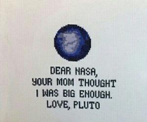 pluto, nasa, and planet image