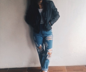 basic, girl, and jeans image
