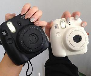 camera, tumblr, and black image