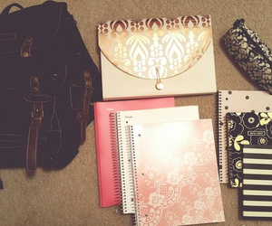 backpack, college, and high school image