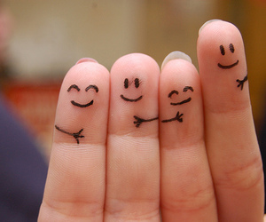 fingers, cute, and friendship image