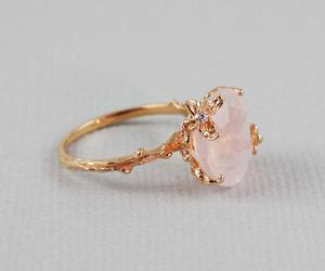 ring, fashion, and pink image
