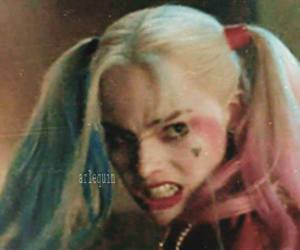 harley quinn, the joker, and puddin image