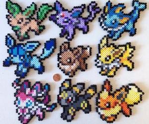eevee, pokemon, and umbreon image