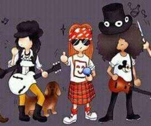 Duff, rock, and gunsnroses image