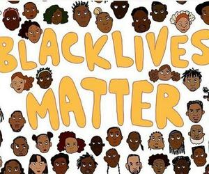 equality, melanin, and blacklivesmatter image