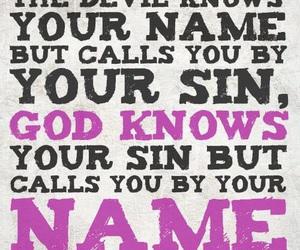 christian, god, and name image