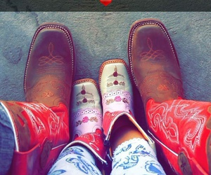baby, boots, and Cowgirl image