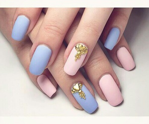 nails, pretty, and nice+ image