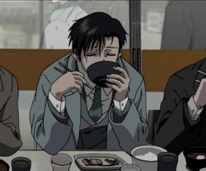 anime, black lagoon, and eating image